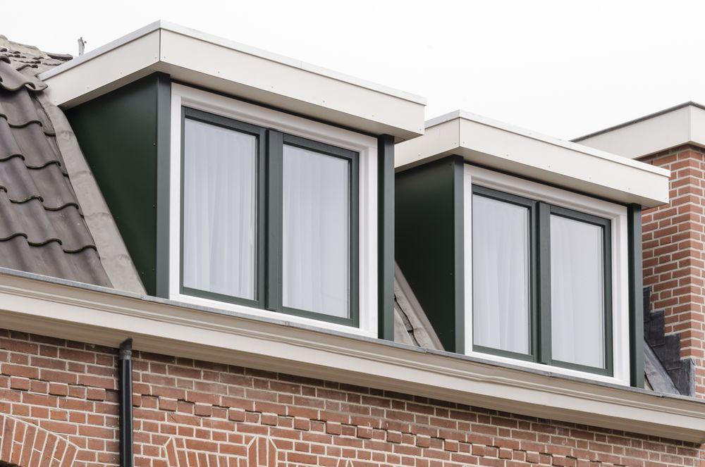 Dubbele dakkapel Haarlem - Van der Vlugt Velserbroek - Kozijnen en Zonwering