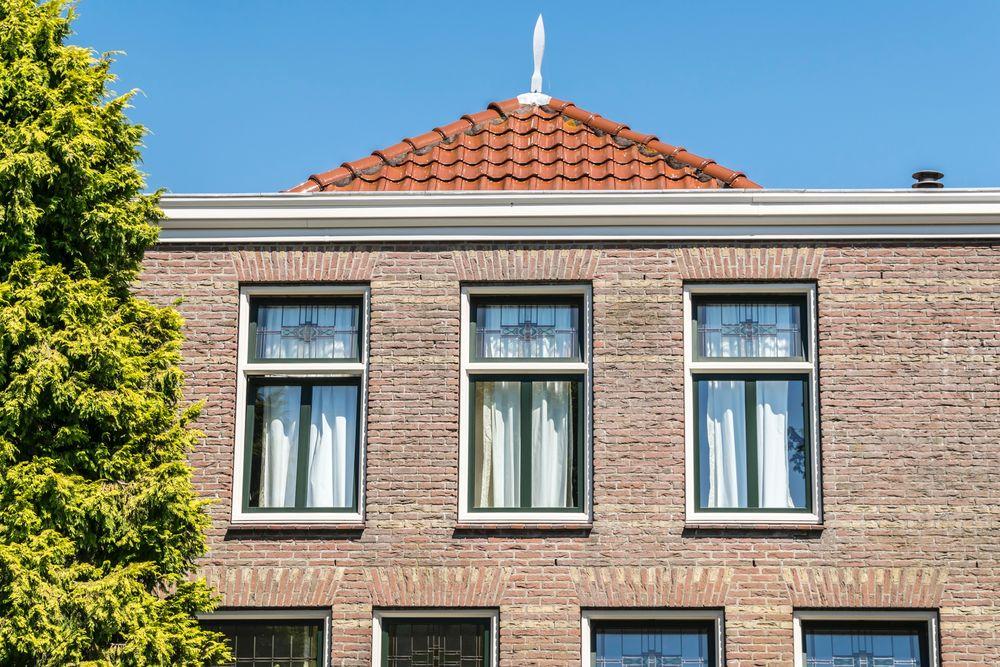 Isolatieglas met glas in lood - Van der Vlugt Velserbroek - Kozijnen en Zonwering