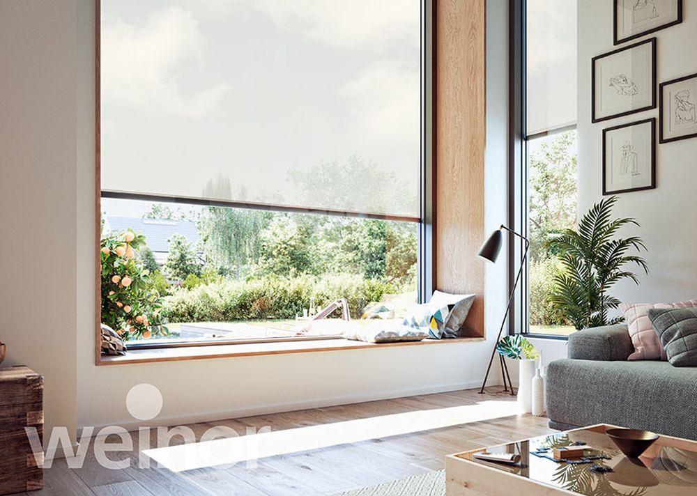 Decoratieve zonwerende screens - Van der Vlugt Velserbroek - Kozijnen en Zonwering